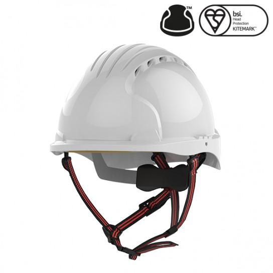 Kask Ochronny EVO®5 Dualswitch wentylowany, do prac na wysokości, Biały