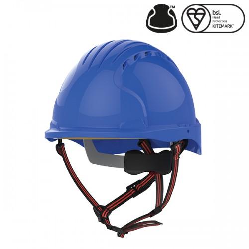 Kask Ochronny EVO®5 Dualswitch wentylowany, do prac na wysokości, Niebieski