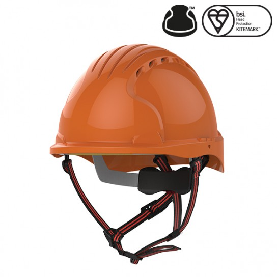 Kask Ochronny EVO®5 Dualswitch wentylowany, alpinistyczny, Czerwony