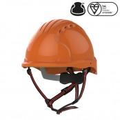 Kask Ochronny EVO®5 Dualswitch wentylowany, alpinistyczny, Pomarańczowy