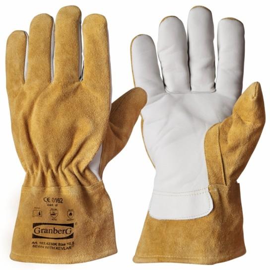 Rękawice robocze/spawalnicze
