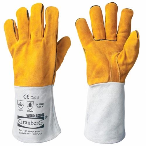 Rękawice spawalnicze - 6 par