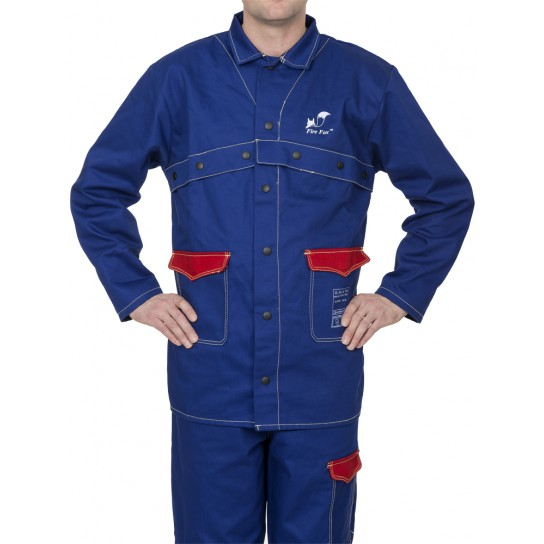 Trudnopalna, bawełniana kurtka spawalnicza Fire Fox™