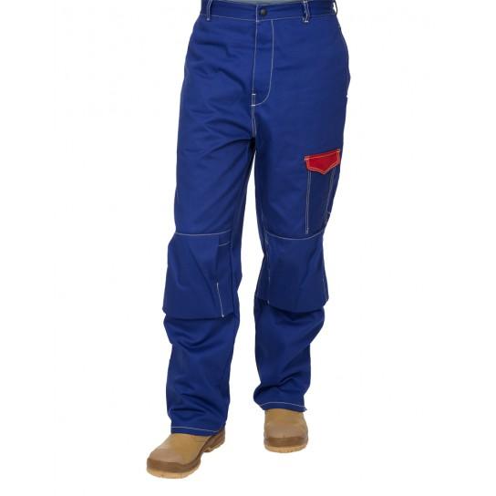 Trudnopalne, bawełniane spodnie spawalnicze Fire Fox™