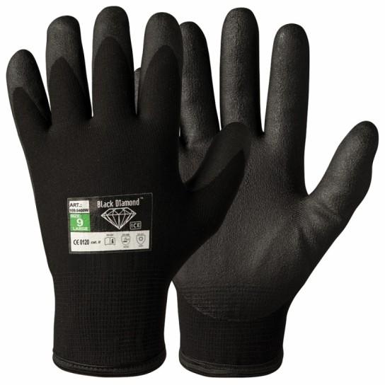 Zimowe rękawice montażowe Black Diamond zatwierdzone przez Oeko-Tex® 100
