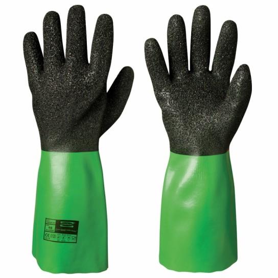 Odporne chemicznie rękawice winylowe/PVC