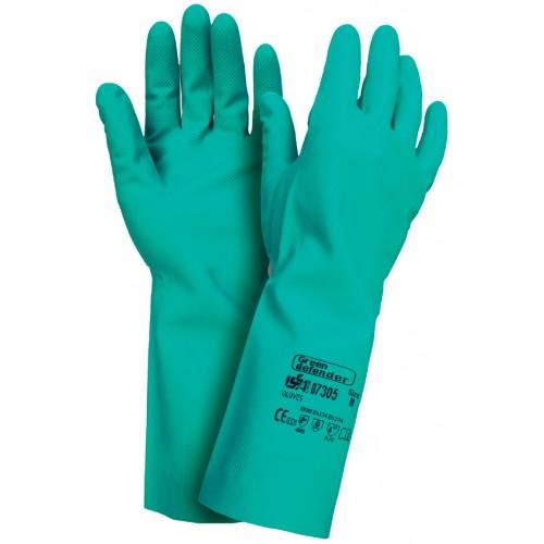 Rękawice z nitrylu - GREEN DEFENDER