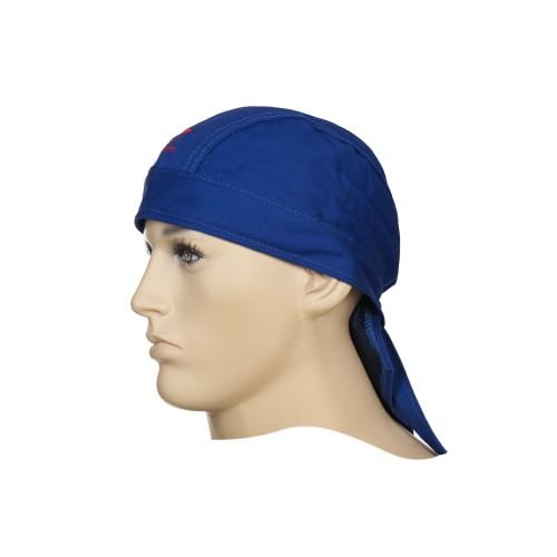 Chusta Doo-Rag, niebieska trudnopalna bawełna Fire Fox™
