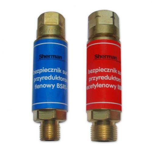 Bezpiecznik gazowy przyreduktorowy