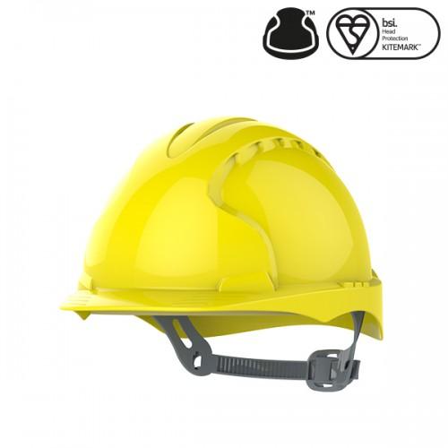 Przemysłowy kask ochronny EVO2® Żółty