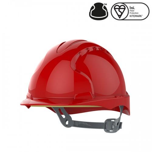 Przemysłowy kask ochronny EVO2® Czerwony