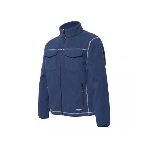 MAOR - bluza polarowa niebieska