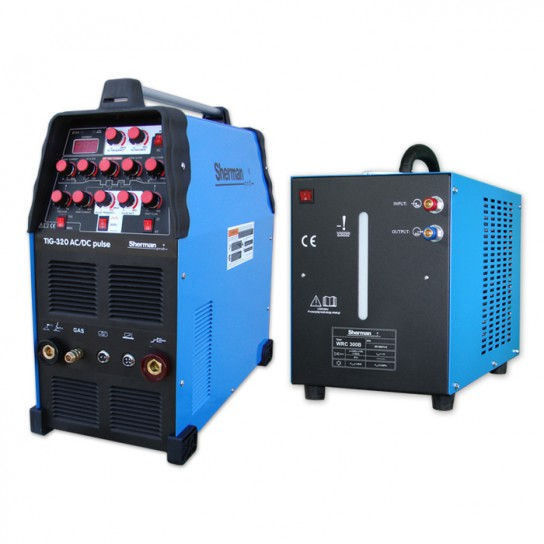 Zestaw spawalniczy TIG 320 AC/DC pulse mini