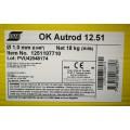 Drut spawalniczy rdzeniowy OK AUTROD 12.51 fi 1,0 18kg