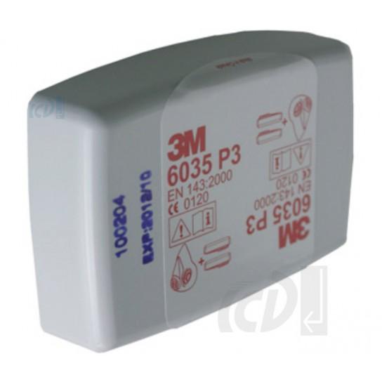 Filtr przeciwpyłowy 3M 6035 P3