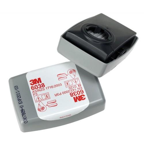 Filtr przeciwpyłowy 3M 6038 - P3