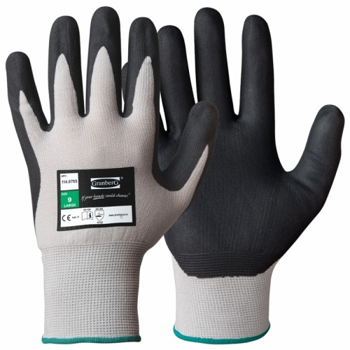 Rękawice nitrylowe montażowe