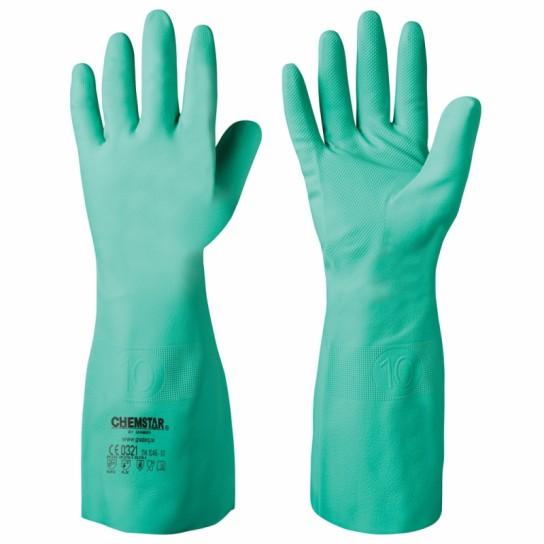 Odporne chemicznie rękawice nitrylowe Chemstar®