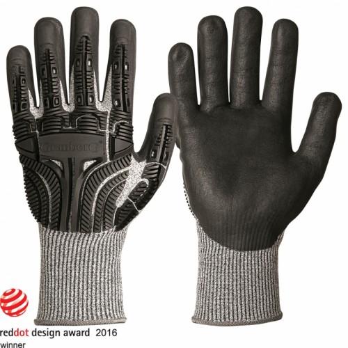 Rękawice ochr. kl. 5, z włóknem Typhoon®, ochrona przed uderzeniem