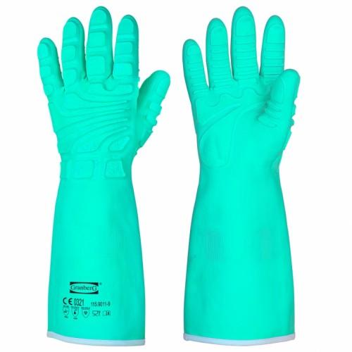 Rękawice ochronne przed przecięciem, zmiażdżeniem i chemikaliami
