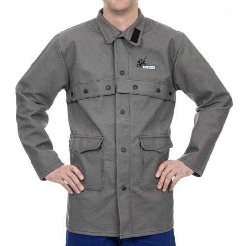 Trudnopalna kurtka spawalnicza, wysokiej odporności trudnopalna bawełna 520 gr./m2 Arc Knight®