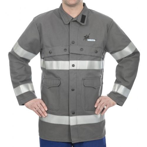 Trudnopalna kurtka o dużej widoczności, HD 520 gr./m2 bawełna Arc Knight®