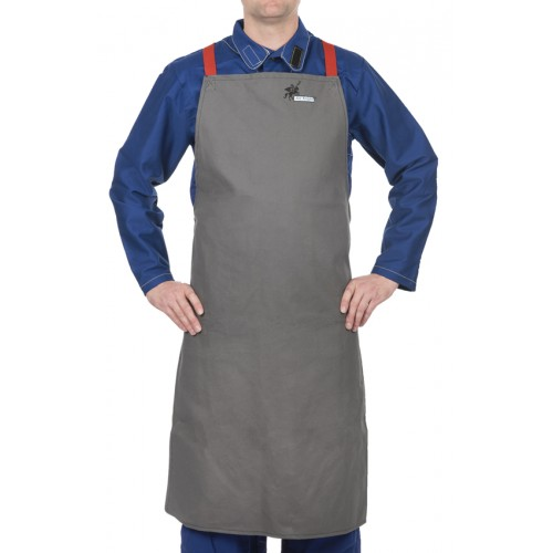 Fartuch spawalniczy, wysokiej odporności trudnopalna bawełna 520 gr./m2 Arc Knight®