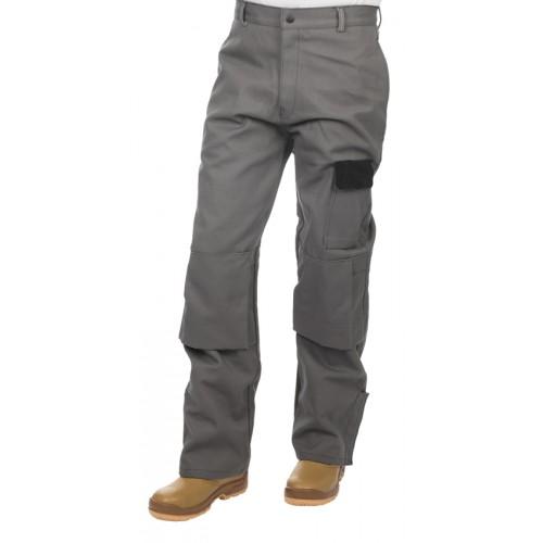 Spodnie spawalnicze, wysokiej odporności trudnopalna bawełna 520 gr./m2 Arc Knight®