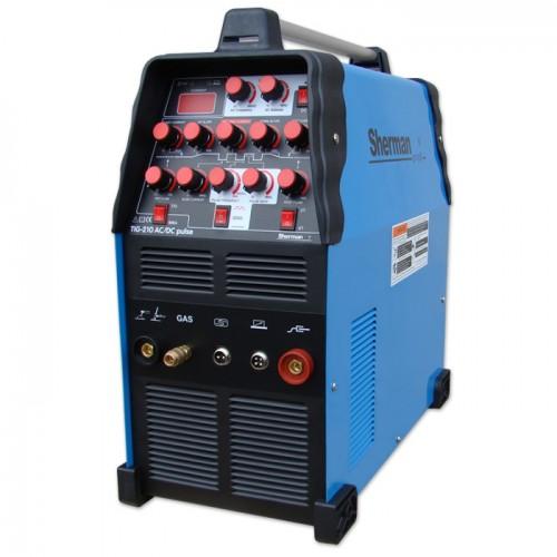 Spawarka inwertorowa TIG 210 AC/DC pulse