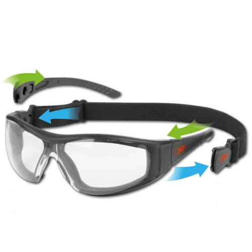 Hybrydowe okulary ochronne Stealth Hybrid