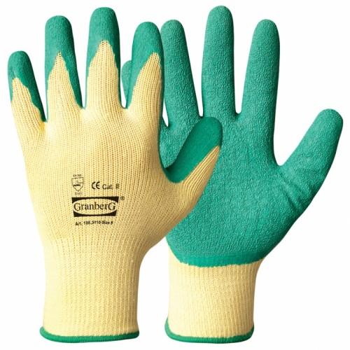 Rękawice robocze z powłoką lateksową