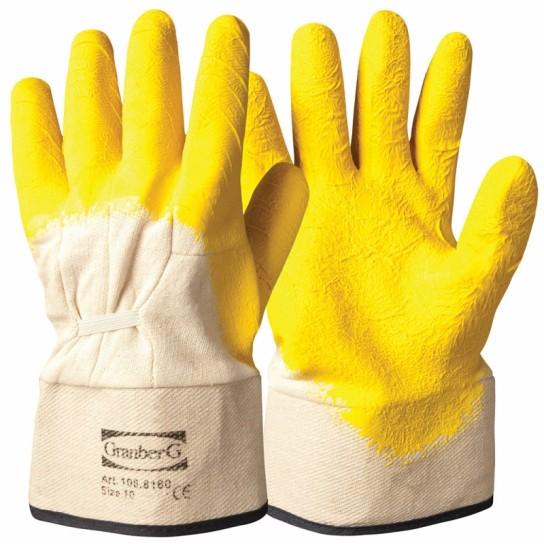 Rękawice robocze z klejonym mankietem
