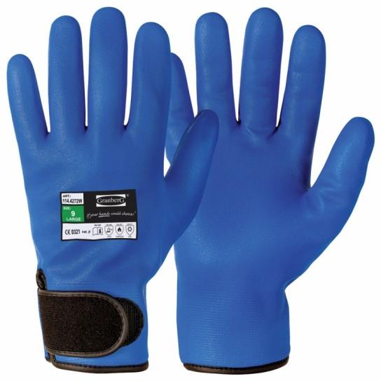 Zimowe rękawice montażowe